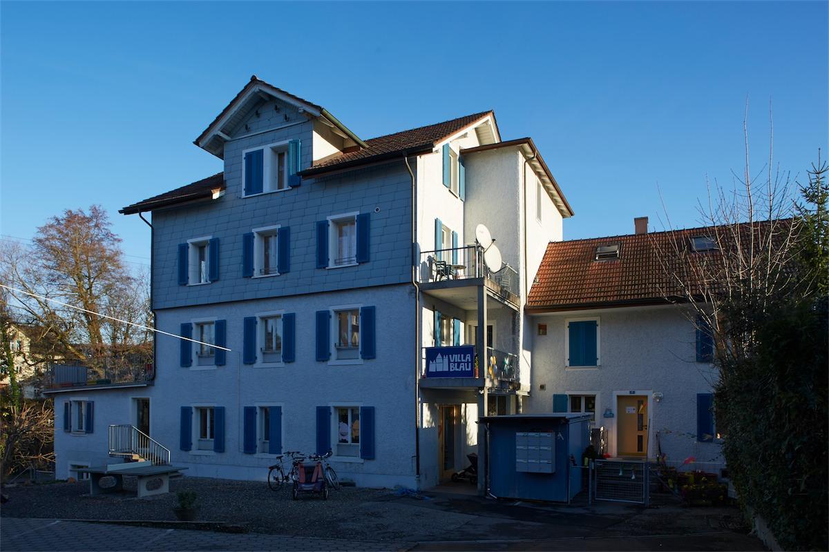 Aussenansicht Villa Blau